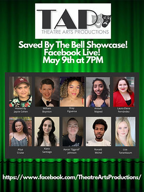 TAP Saved By The Bell Facebook Live Show