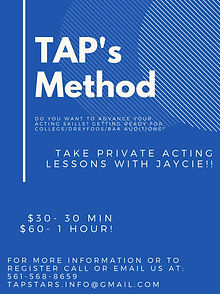 Private Acting Lessons with Jaycie Cohen
