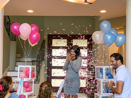 A much awaited gender reveal