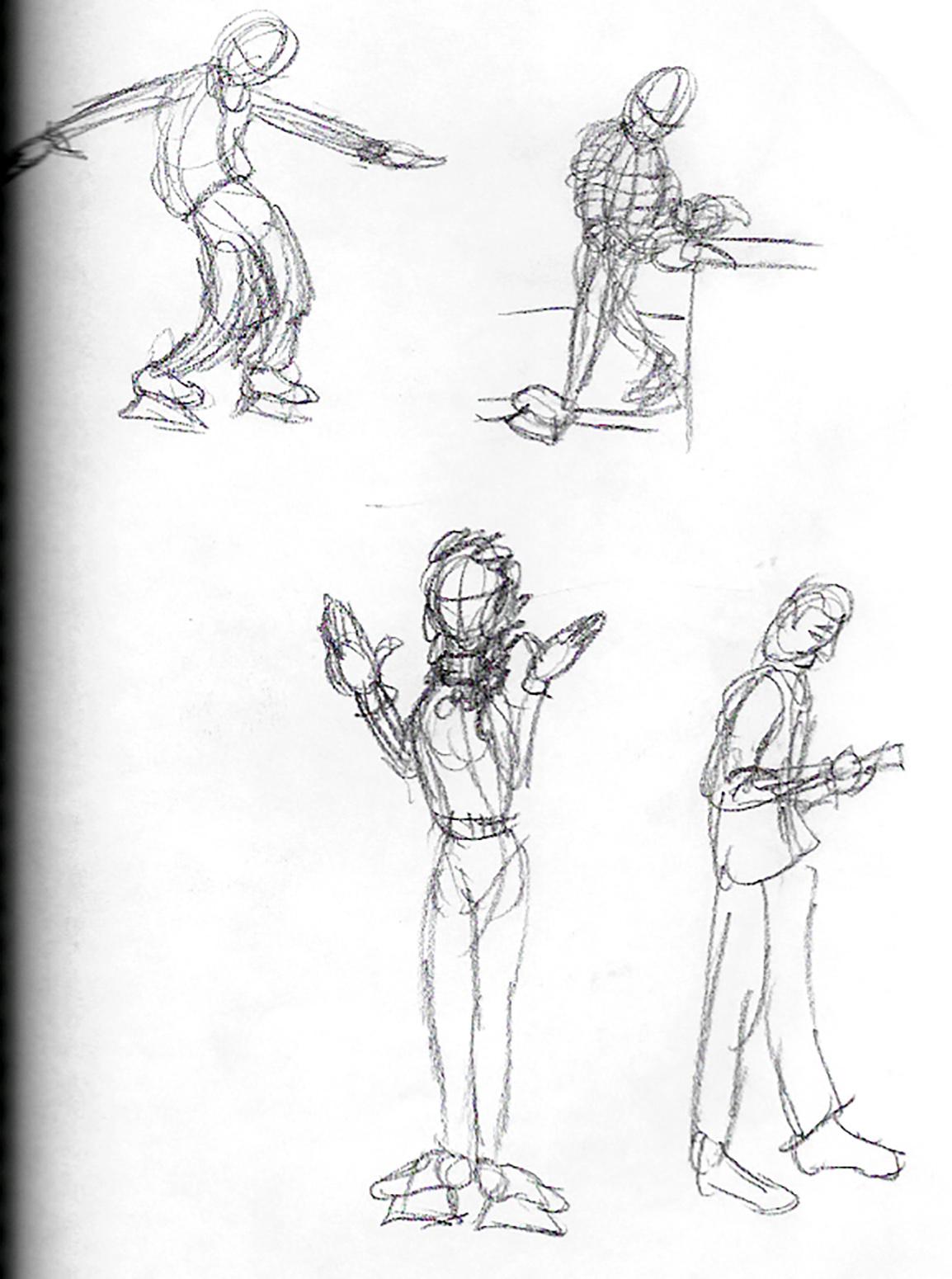 Café Drawings 1
