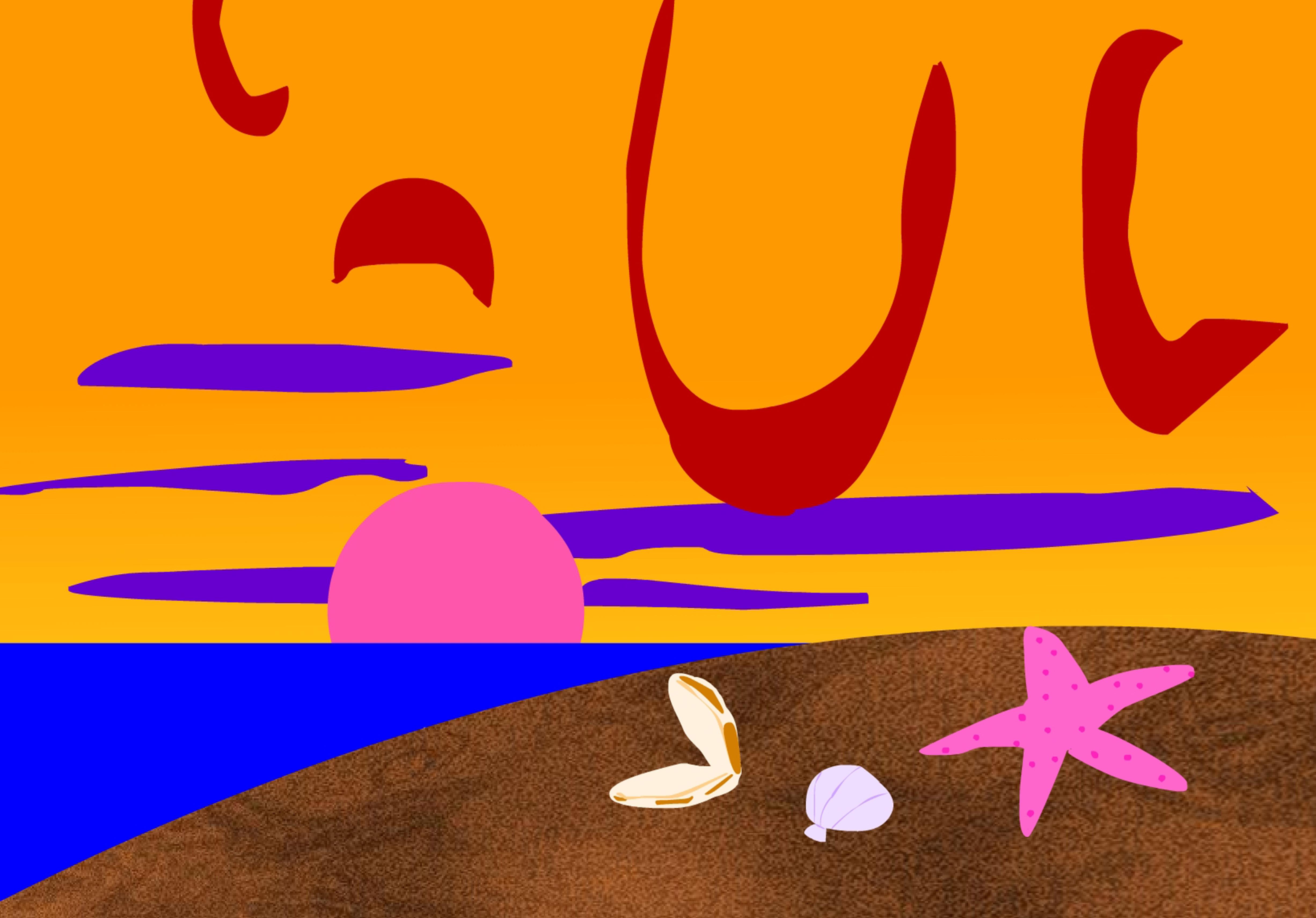 Taste on Autism- Beach Sunset