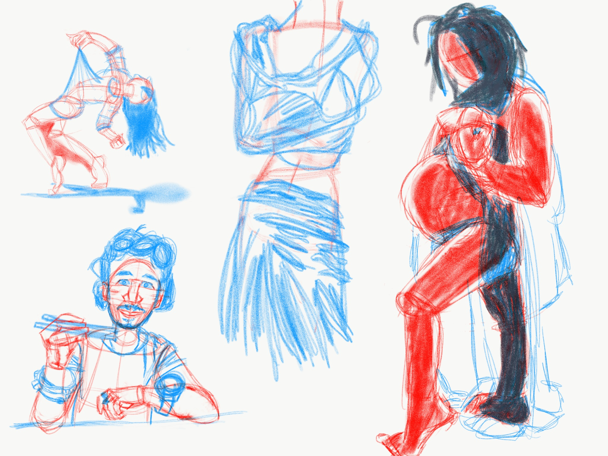 Digital Life Drawings
