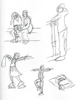Café Drawings 2