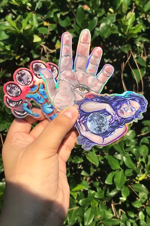 Holo Sticker Pack