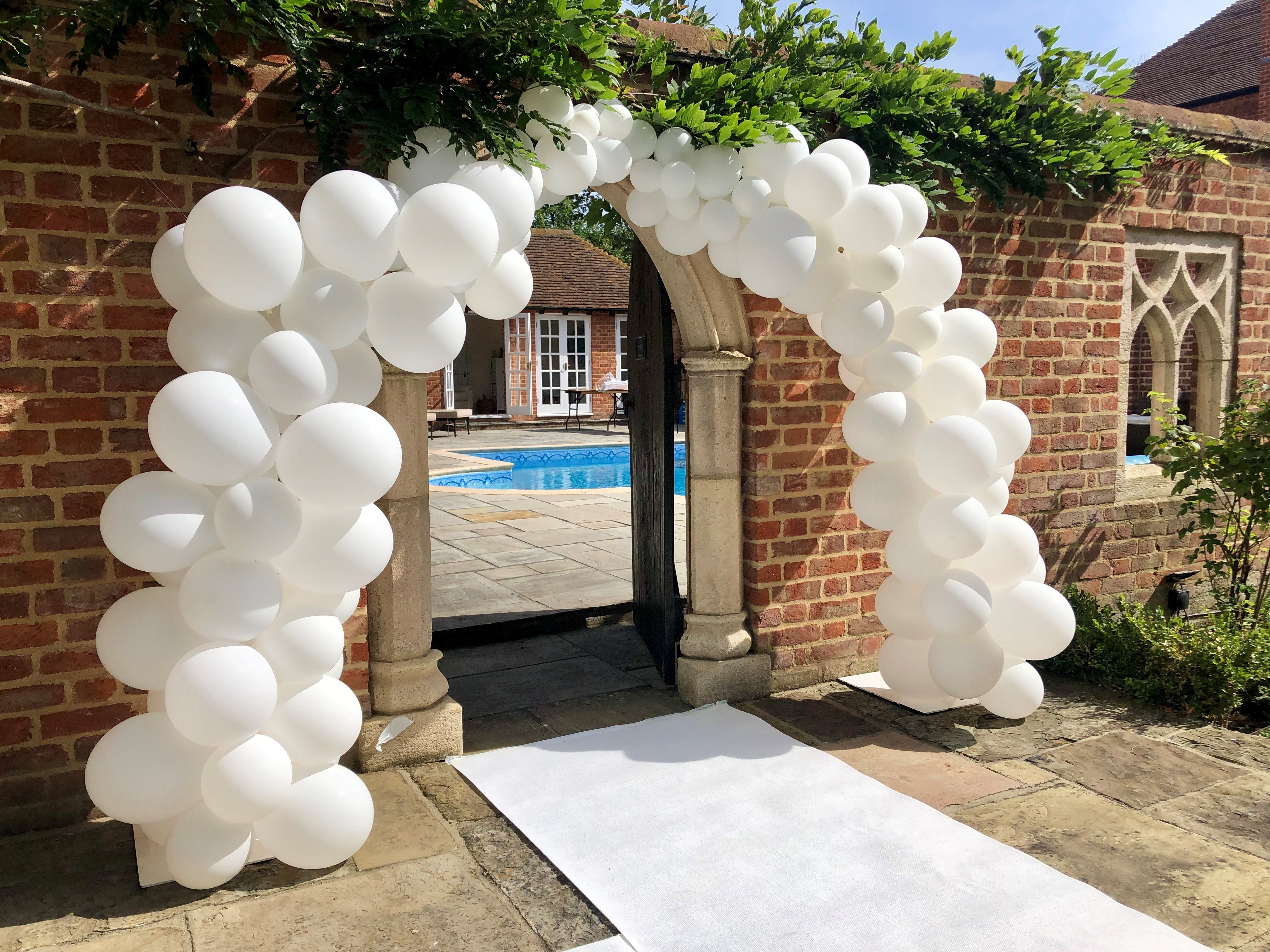 Organic Balloon Arch in Stevenage
