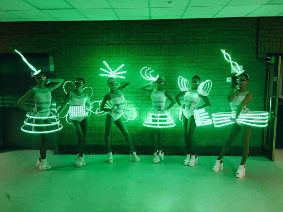 LED Dancers in Hertfordshire, Bedfordshire, Essex & London