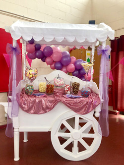 Candy Cart for Hire in Hertfordshire