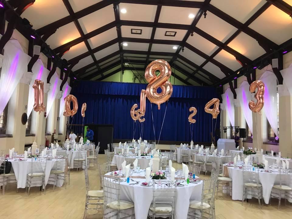 Number Balloons in Stevenage