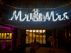 Light up Mr & Mrs Letter Hire in Hertfordshire