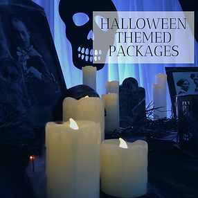 Halloween Themed Party Decor in Hertfordshire, Bedfordshire, Essex & London