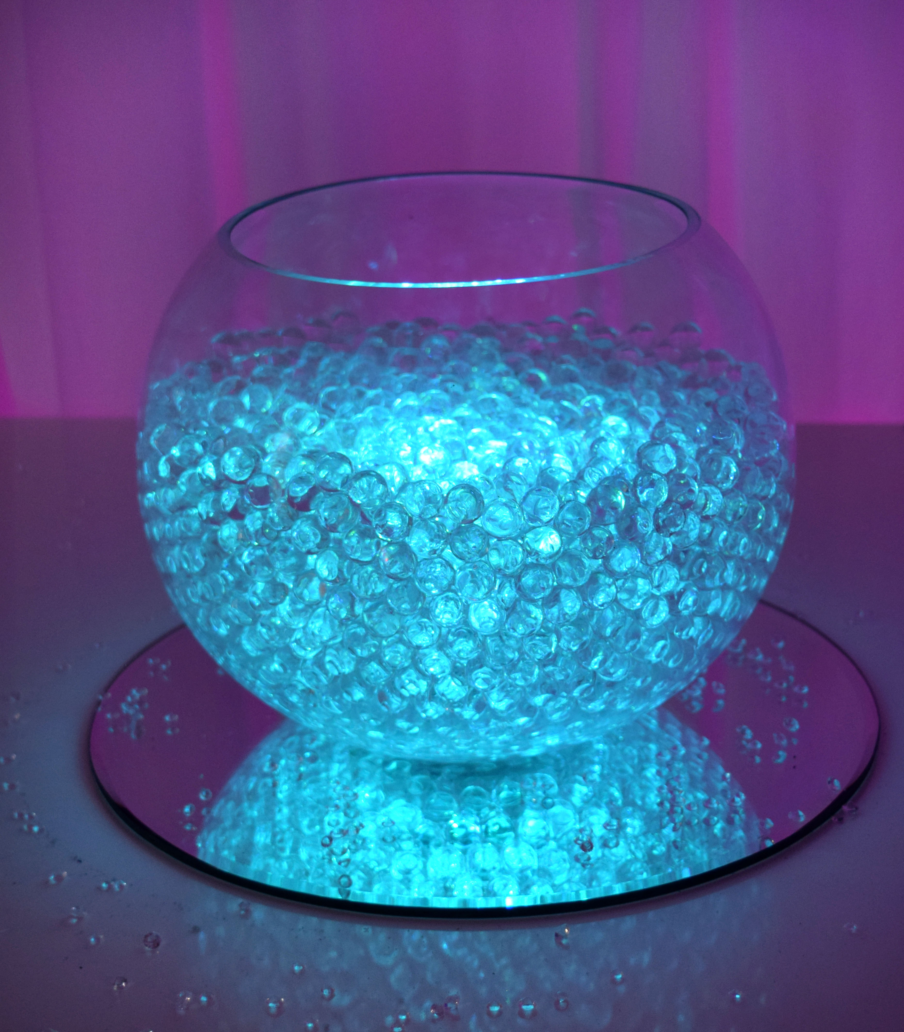 'Bright Light' Fishbowl Hire in Hertfordshire, Bedfordshire, Buckinghamshire, Essex & London