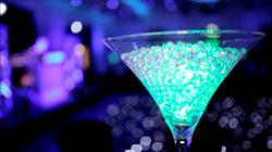 Martini Glass Centrepiece Hire
