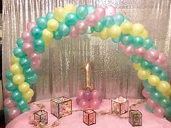 Baby shower venue decor in Stevenage