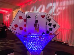 Casino Themed Event Venue Decor Hire in Hetfordshire, Bedfordshire, Buckinghamshire, Essex & London