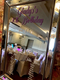 Table Plan Hire in Hertfordshire