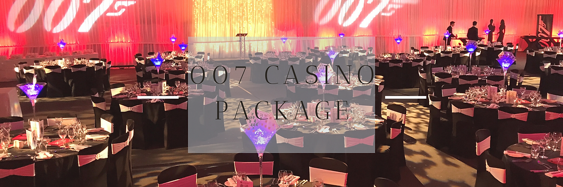 Casino Themed Event Decor in Hertfordshire, Bedfordshire, Buckinghamshire, Essex & London