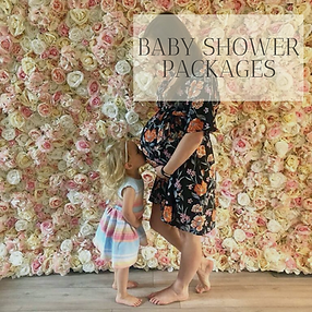 Baby Shower Packages in Hertfordhire, Bedfordshire, Buckinghamshire, Essex and London