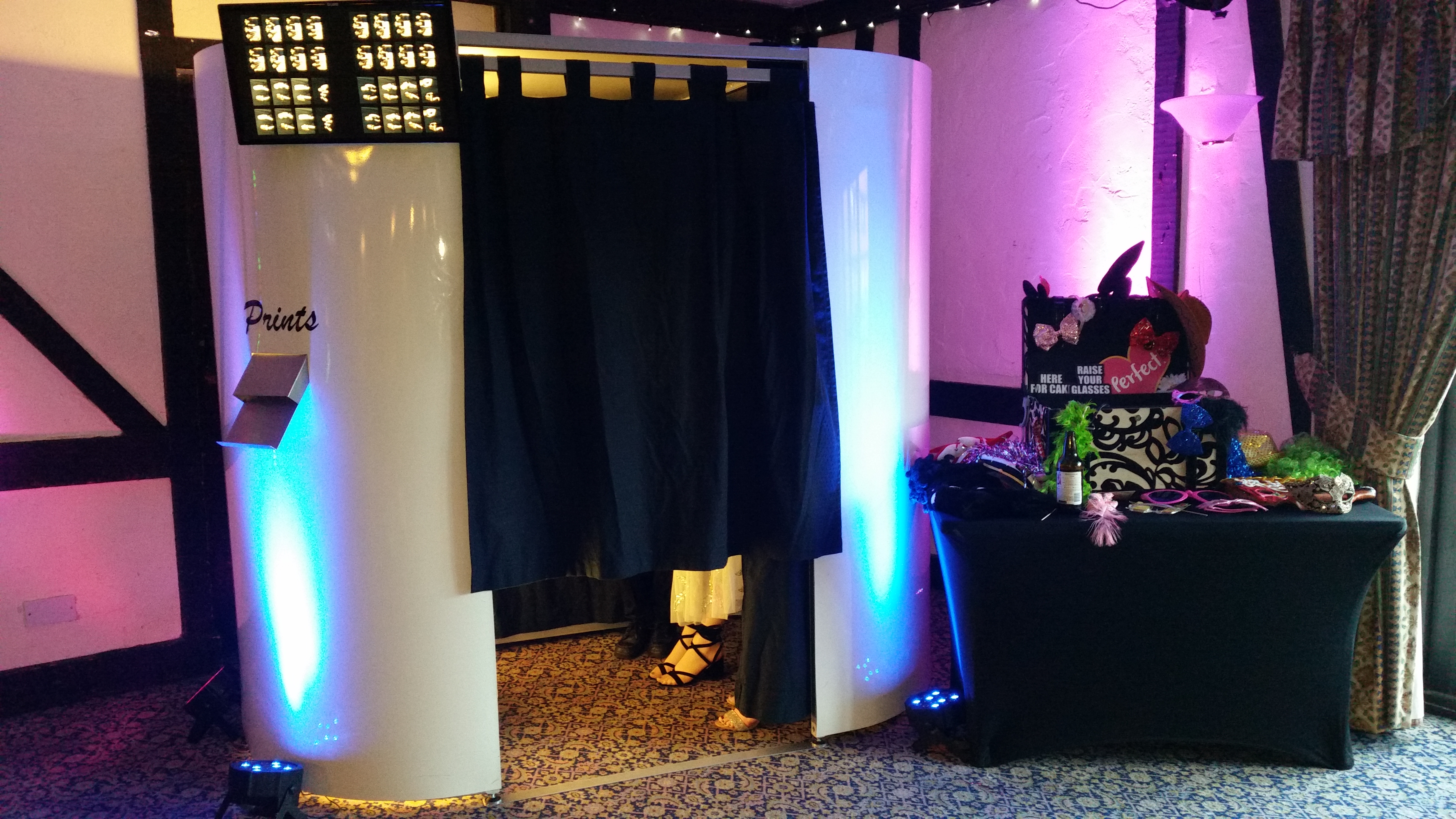 Masquerade Venue Decor in Hertfordshire, Bedfordshire, Buckinghamshire, Essex & London