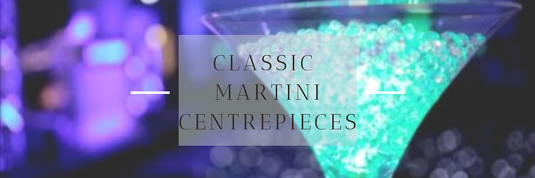 Classic Martini Centrepiece in Hertfordshire, Bedfordshire, Buckinghamshire, Essex & London
