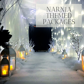 Narnia Themed Decor in Hertfordhire, Bedfordshire, Buckinghamshire, Essex and London