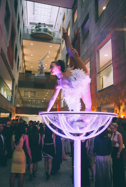 Martini Glass Performers in Hertfordshire, Bedfordshire, Essex & London