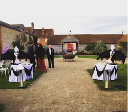 Human Tables Hire in Hertfordshire, Bedfordshire, Essex & London