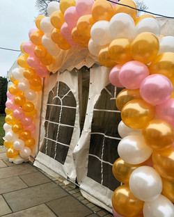 Twisted Balloon Arch in Stevenage