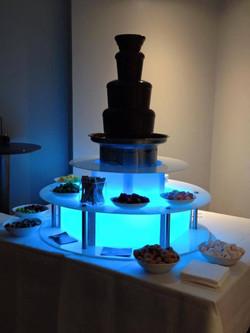 Chocolate fountain in Hertfordshire