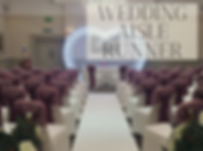 Wedding Aisle Runner Hire in Hertfordshire, Bedfordshire, Essex & London