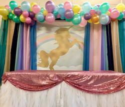Organic Balloon Garland in Stevenage