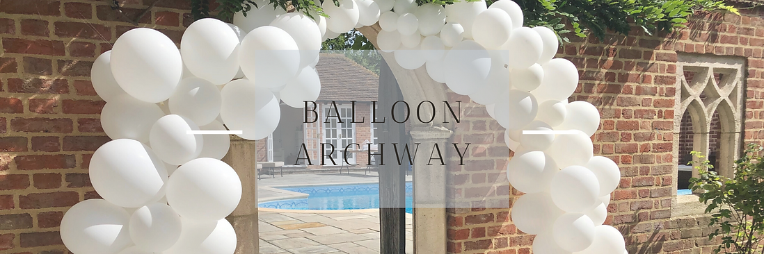 Balloon Archway in Hertfordshire, Bedfordshire, Buckinghamshire, Essex & London
