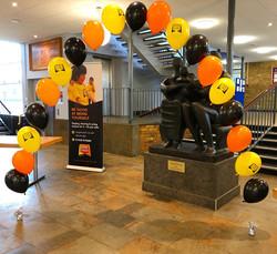 Helium Balloon Arch in Stevenage