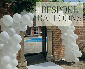 Balloons available in Hertfordshire, Bedfordshire, Buckinghamshire, Essex and London