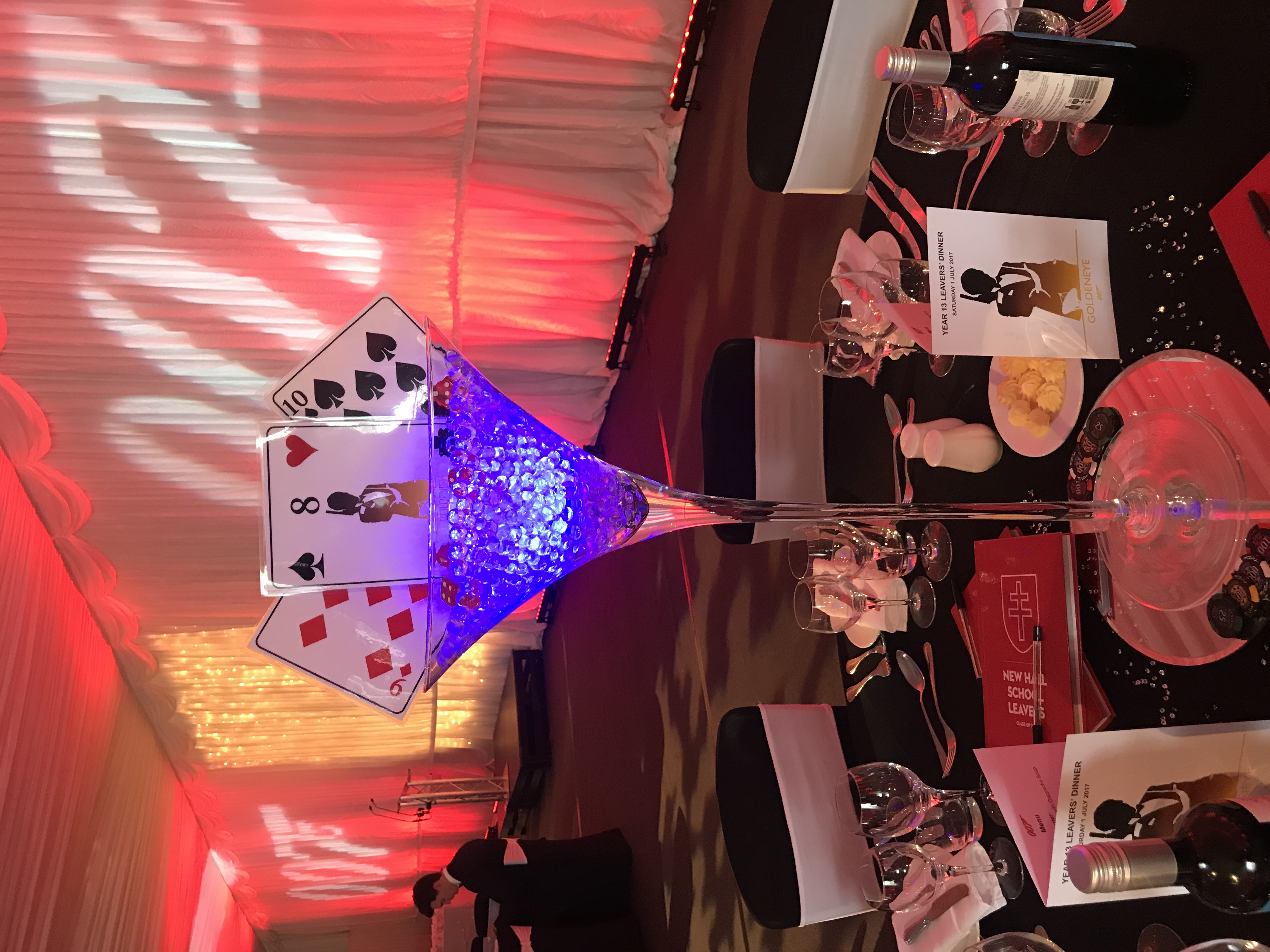 Casino Themed Event Venue Decor Hire in Hetfordshire, Bedfordshire, Buckinghamshire, Essex & London
