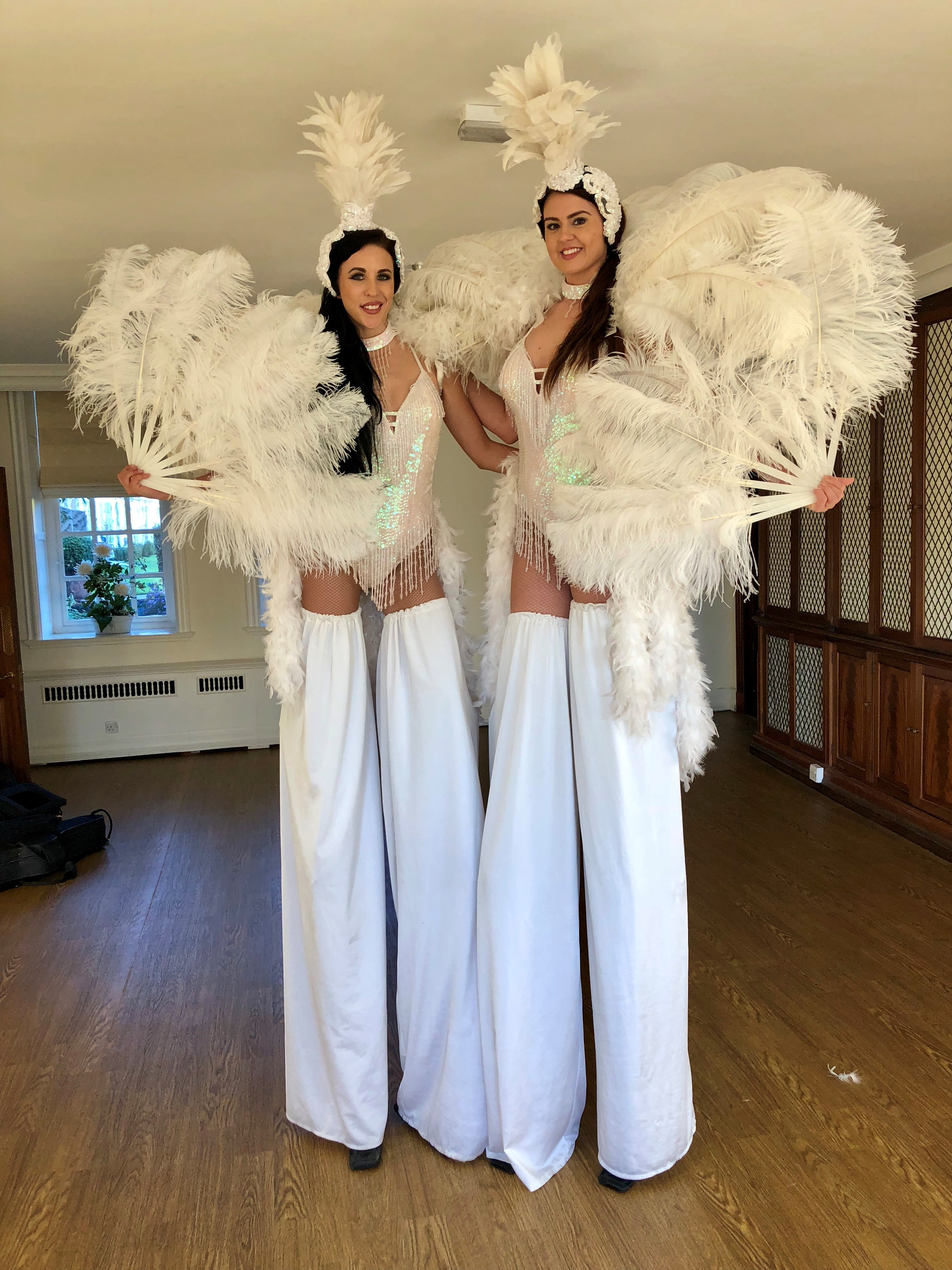 Stilt Walkers in Hertfordshire, Bedfordshire, Essex & London