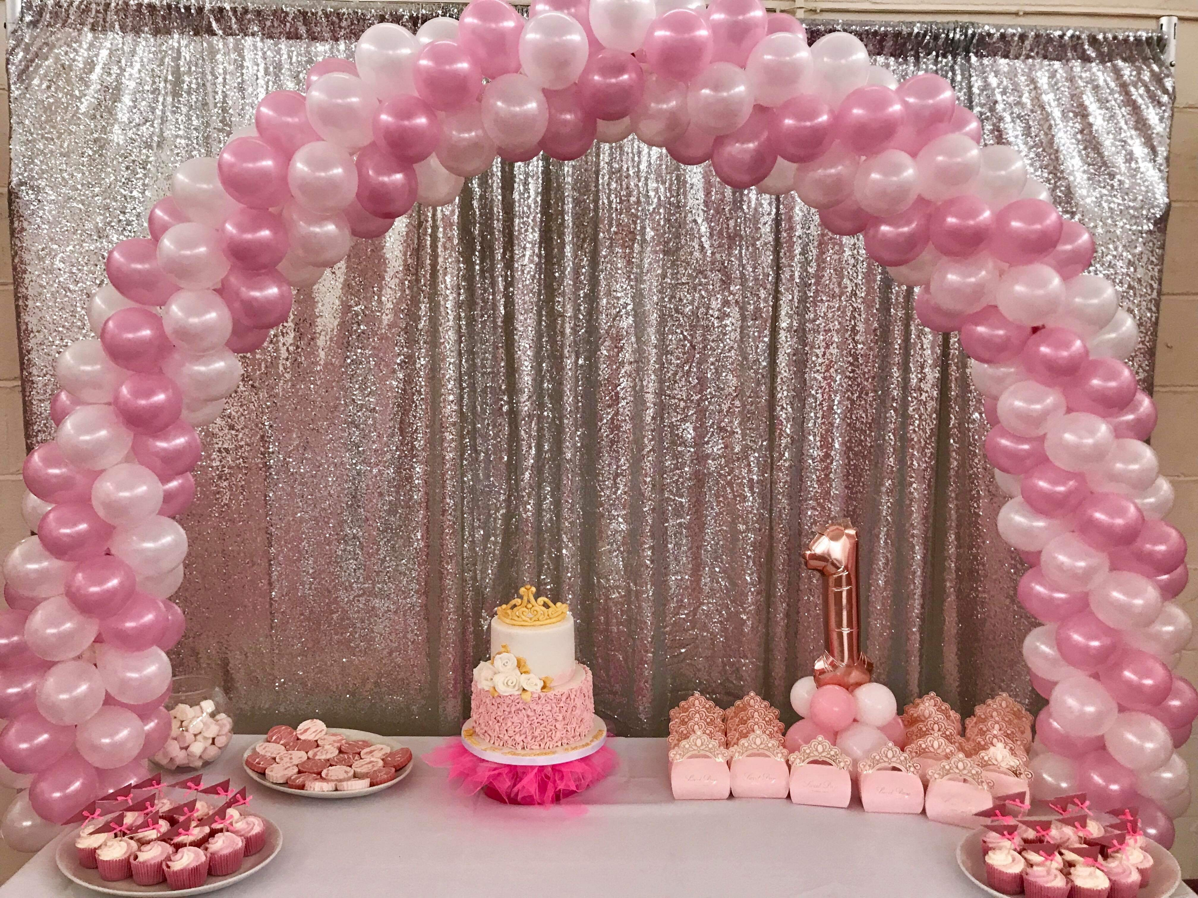 Cake Table Balloon Arch in Stevenage