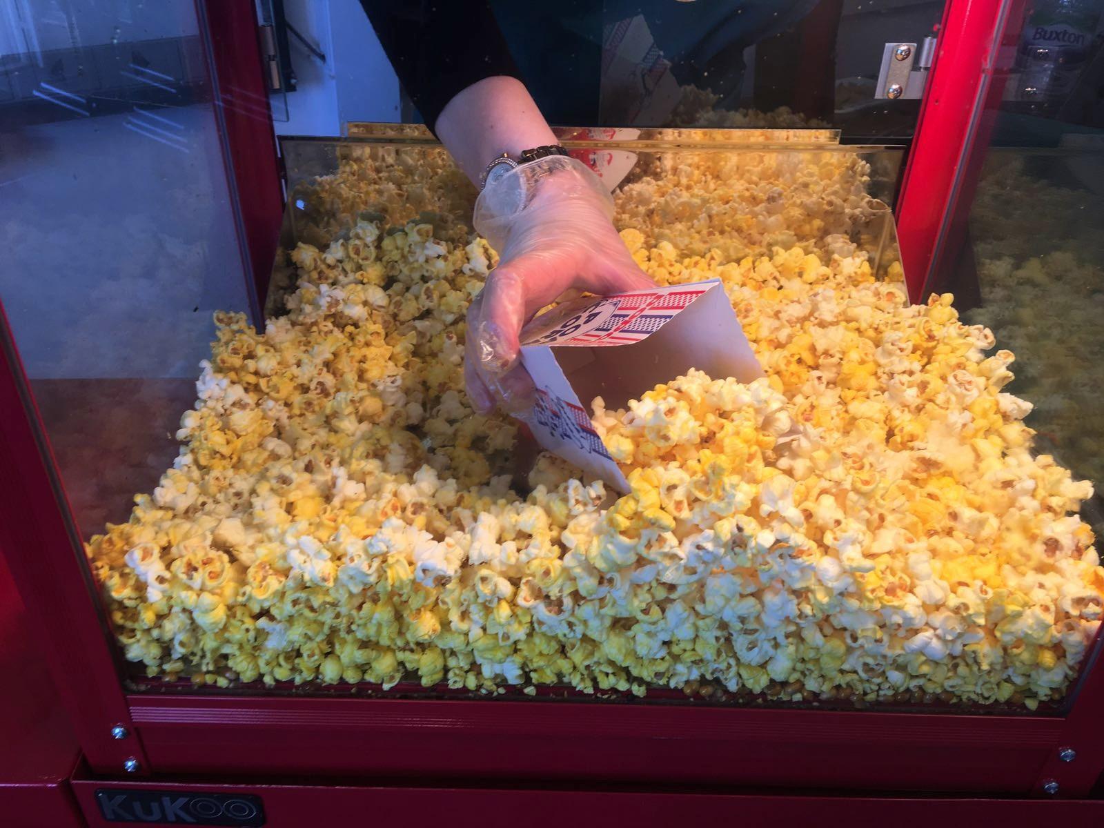 Popcorn Machine Hire in Hertfordshire