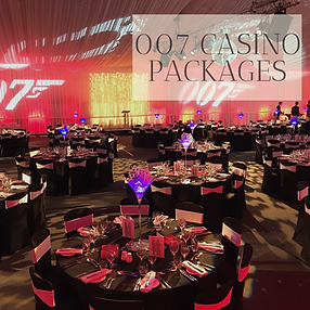 Casino Themed Packages in Hertfordhire, Bedfordshire, Buckinghamshire, Essex and London