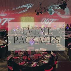 Event decor package hire in Hertfordshire, Bedfordshire, Buckingshire, Essex & London