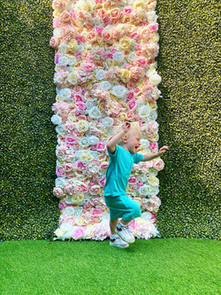 Floral Hedge Wall Hire in Hertfordshire
