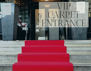 VIP red carpet entrance hire in Hertfordshire, Bedfordshire, Essex & London