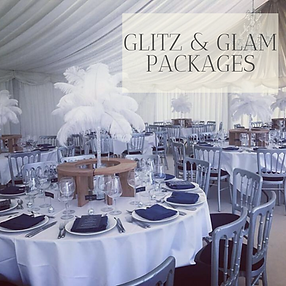 Glitz & Glam Packages in Hertfordhire, Bedfordshire, Buckinghamshire, Essex and London