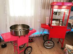 Candy floss & Popcorn Machine Hire