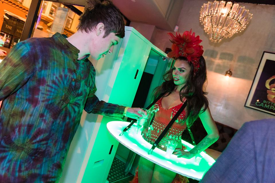 LED Roaming Tables in Hertfordshire, Bedfordshire, Essex & London