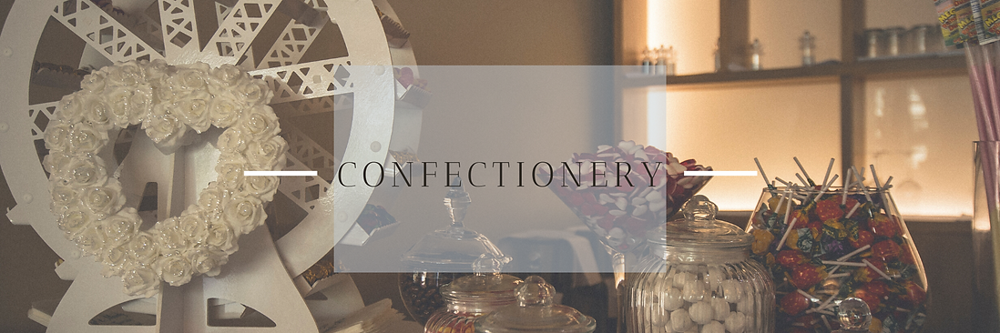 Confectionery Hire in Hertfordshire, Bedfordshire, Buckinghamshire, Essex & London
