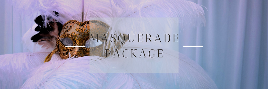 Masquerade Event Decor in Hertfordshire, Bedfordshire, Buckinghamshire, Essex & London