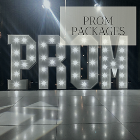 Prom Packages in Hertfordhire, Bedfordshire, Buckinghamshire, Essex and London