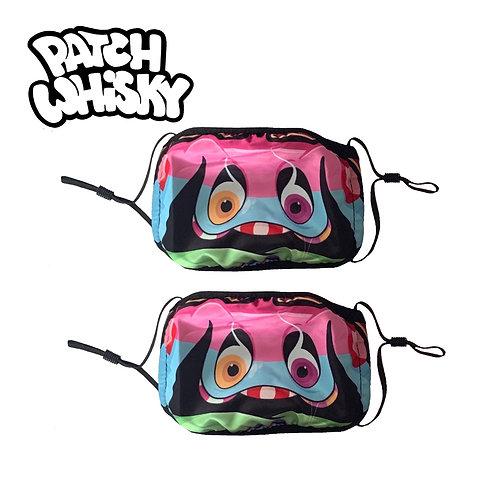 Set of 2 Children's Monster masks