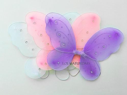 "Fairy wings 15"" x 12""(pack of 3)"