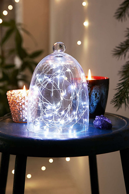 LED battery wire string lights